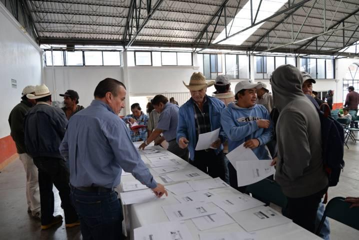 La SCT beneficiará a 80 personas de Nanacamilpa con Empleo Temporal