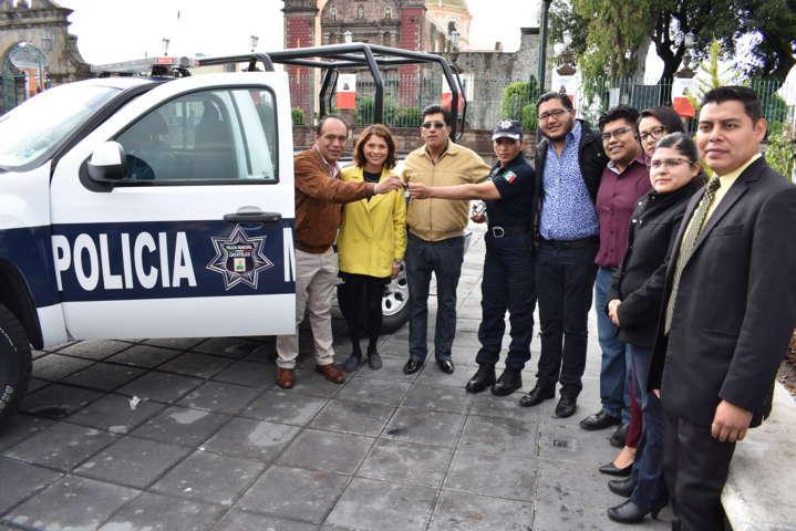 Alcalde mejora los servicios de Seguridad Pública con nueva patrulla
