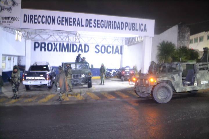 Alcalde refuerza la seguridad con presencia del Ejército Mexicano