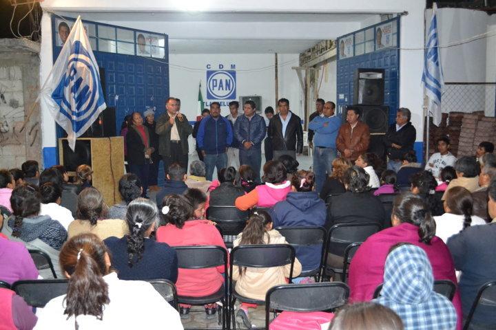 Cierran filas en Tlaltelulco en torno a Miguel Ángel Polvo