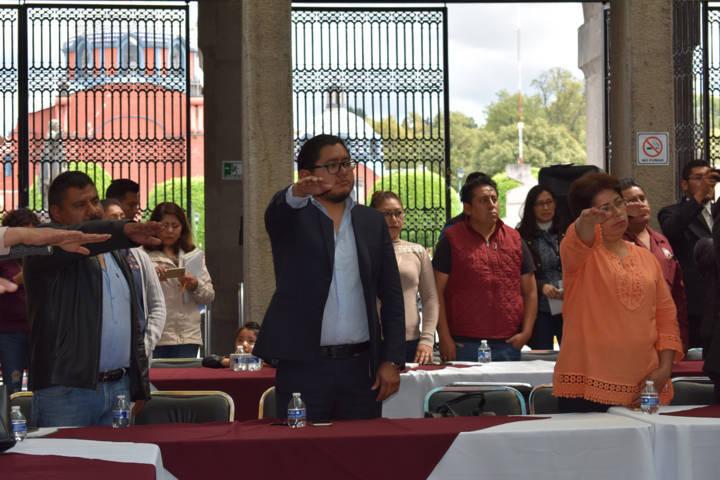 Regidores se suman a la Red Estatal por la Defensa de los Derechos Humanos
