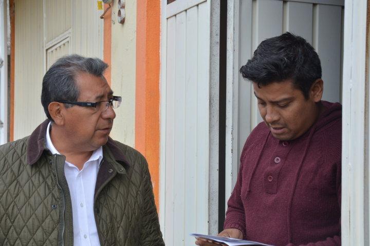 Con la buena política fomentaremos la democracia: Serafín Ortiz
