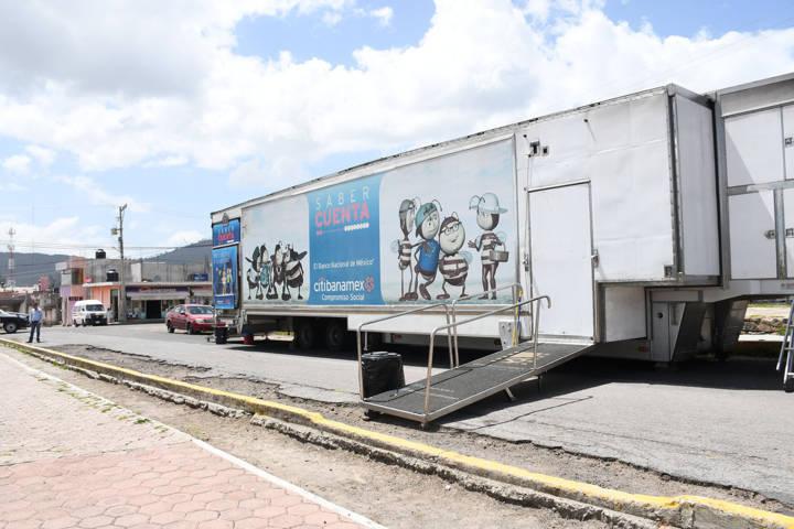 Promueven Gobierno Municipal y City Banamex Cine Movil en comunidades de Tlaxco