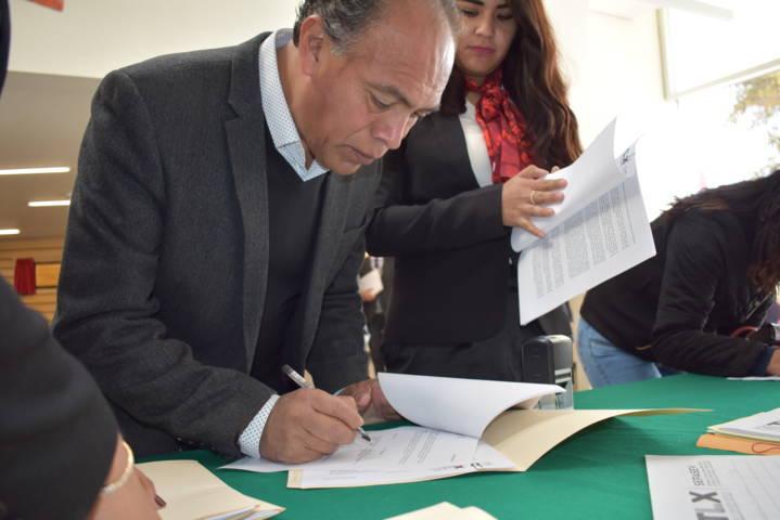 Alcalde y síndico municipal pactan erradicar la violencia contra la mujer