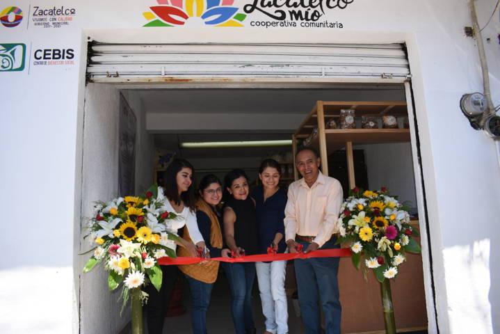 """Ayuntamiento pone en marcha cooperativa comunitaria """"Zacatelco Mío"""""""