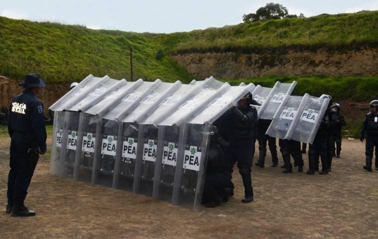 La CES capacitó un grupo interinstitucional antidisturbios en la entidad