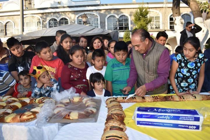 TOA llevo ilusiones a niños y niñas en el festejo del Día de Reyes Magos