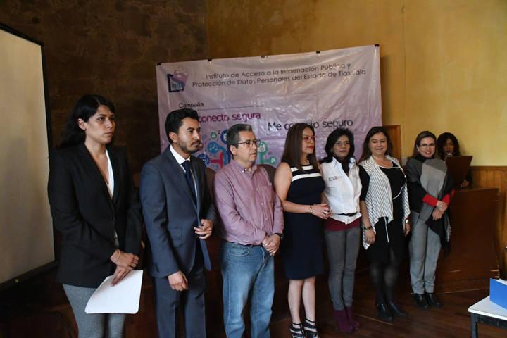 Recibe Tlaxco mesas de diálogo de cultura de paz y protección de datos