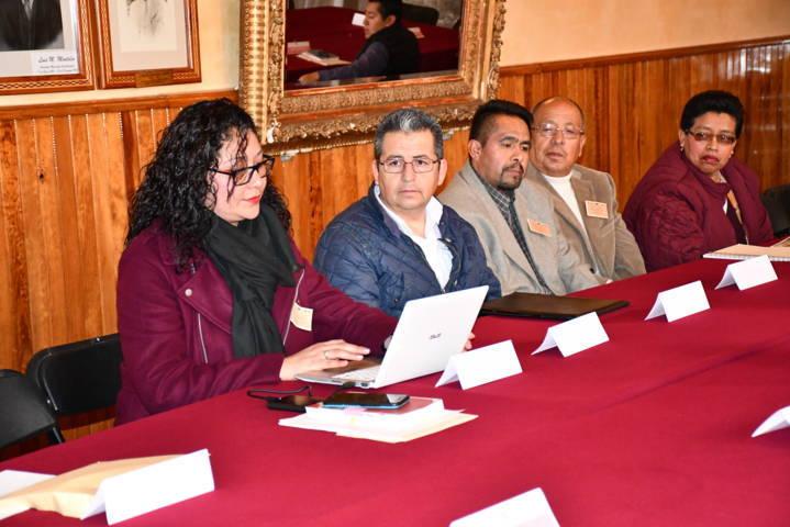 Tlaxco sede de la mesa de trabajo y capacitación de archivos municipales de Tlaxcala