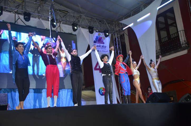 Alcalde Adolfo Escobar pone en marcha Festival Cultural de Tlaxcala 2016