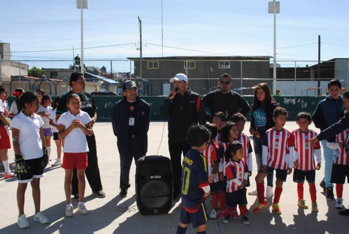 Un éxito Torneo de Futbol En Tu Colonia que realiza el Ayuntamiento