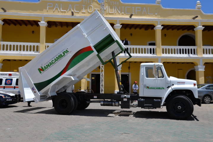 La rehabilitación de este camión de la basura mejorar el servicio: alcalde