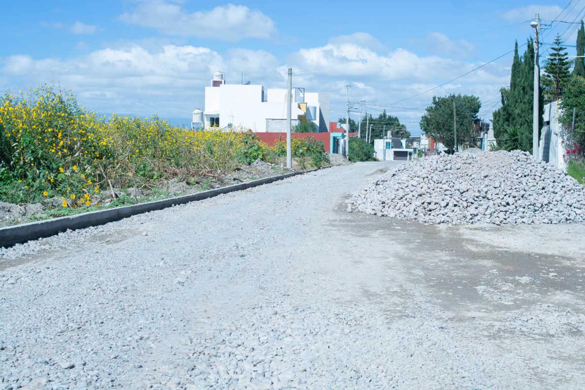 Arranca programa de rehabilitación de calles en Xicohtzinco