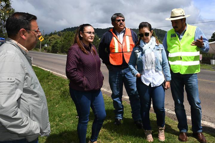 Atiende SCT solicitud de autoridades de Tlaxco para gestionar rampa de frenado de emergencia