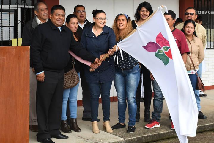 Inicia Tlaxco construcción de techumbre en Secundaria Técnica de Matamoros