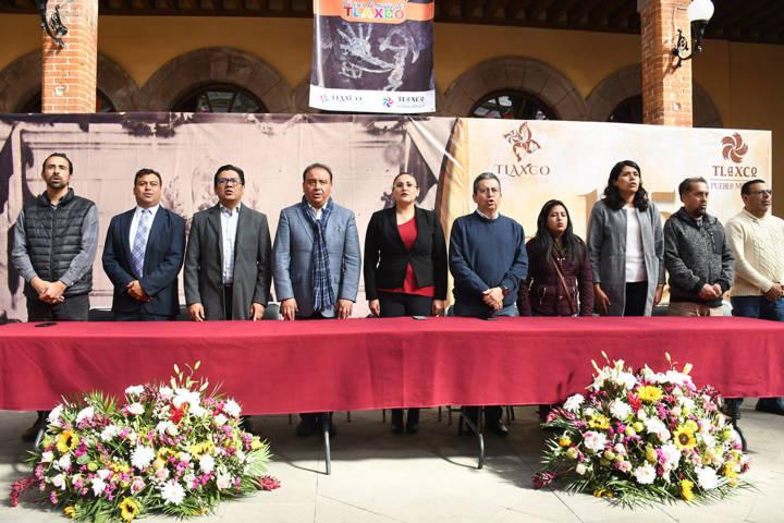 Conmemoran autoridades el 125 Aniversario del Palacio Municipal de Tlaxco