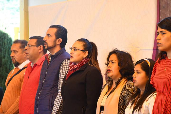 La Carta Magna debe ser factor de unidad: Gardenia Hernández Rodríguez