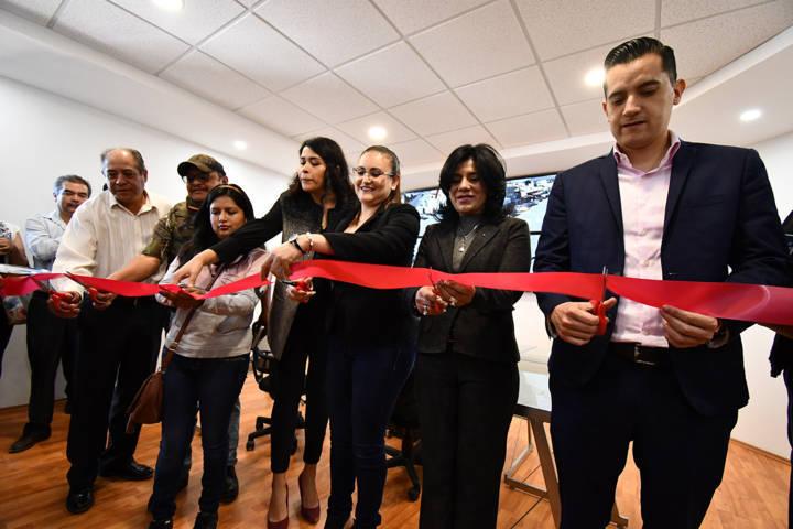 Inaugura Tlaxco Centro de Monitoreo de Video Vigilancia