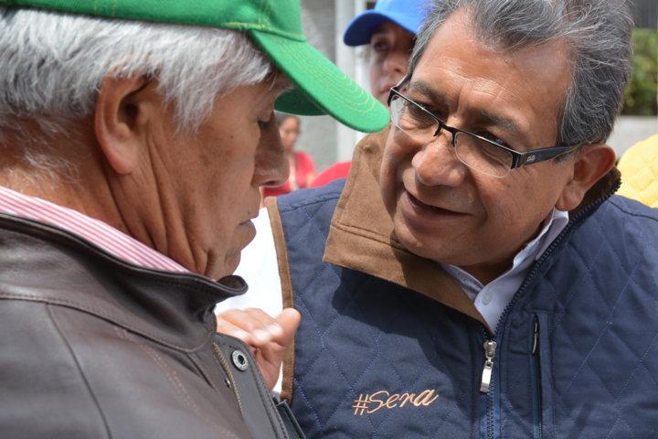 La democracia debe regresar al ciudadano con solución a problemáticas: Serafín Ortiz