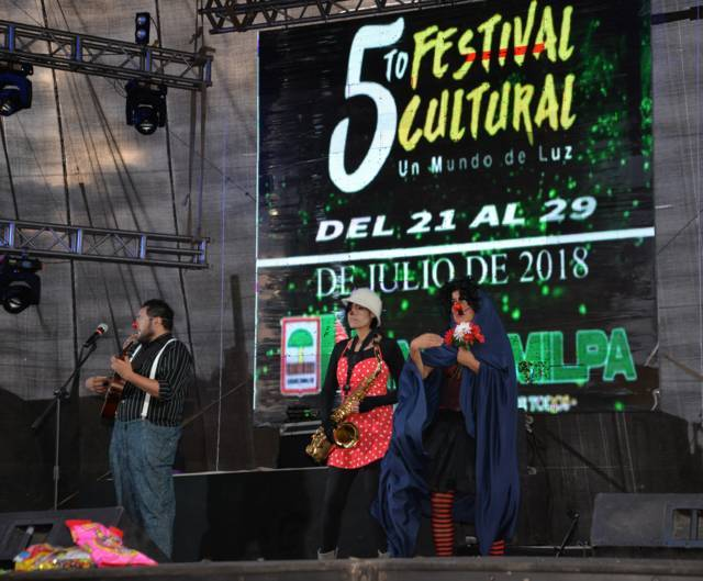 "El 5to Festival Cultural ""Un Mundo de Luz 2018"" finaliza con un rotundo éxito"