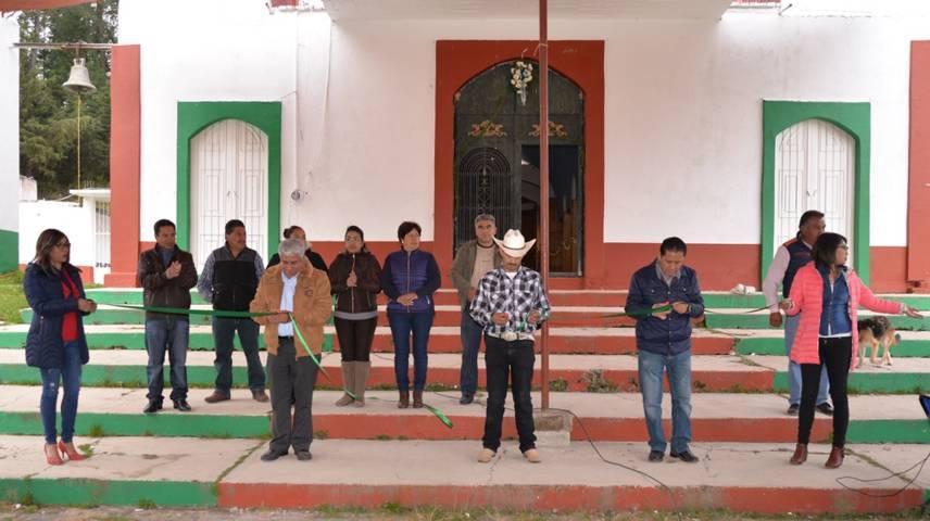 Alcalde de Nanacamilpa puso en marcha la feria Tepuente 2018