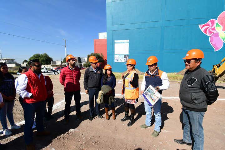 Inicia Tlaxco remodelación del Centro Deportivo Integral