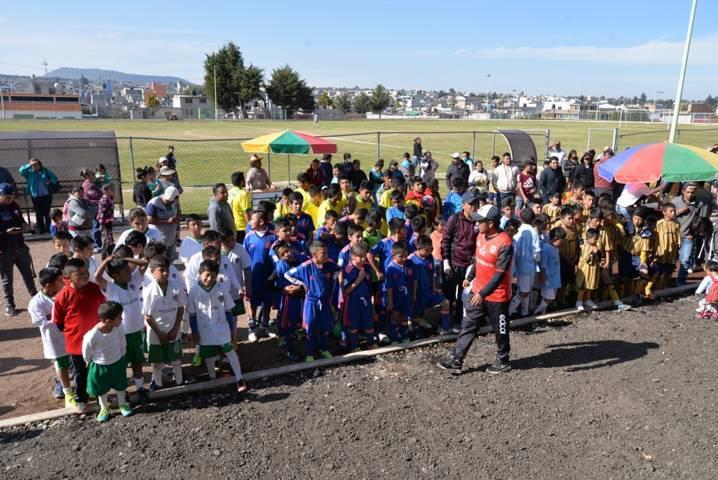 Todo un éxito fue el torneo de la liga de fútbol infantil: Guzmán Brindis
