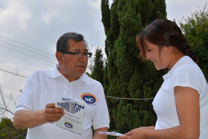 Mantengo mi ofrecimiento de presentar ley del primer empleo para jóvenes: Serafín Ortiz