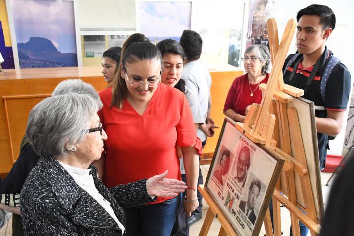 Rinde homenaje Tlaxco a primera mujer Diputada Federal de Tlaxcala