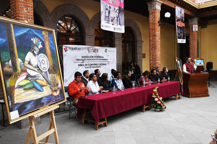 Firman Tlaxco y Chiautempan convenio cultural