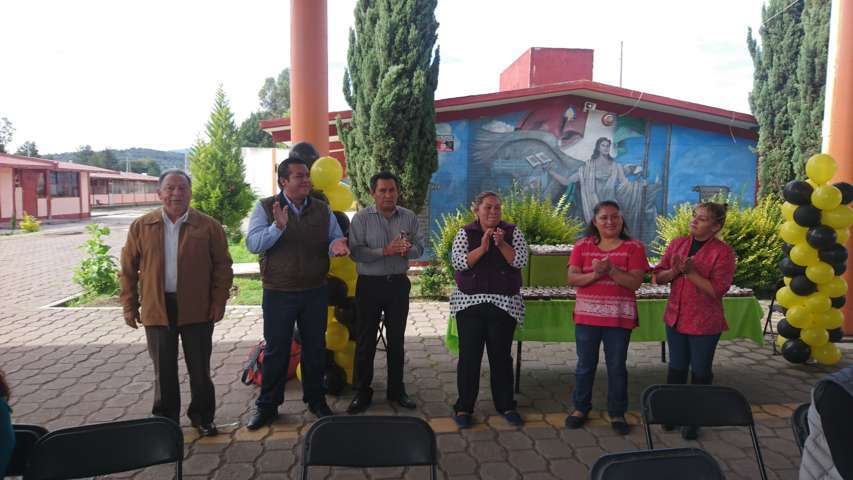 Asiste alcalde de Tzompantepec a último convivio