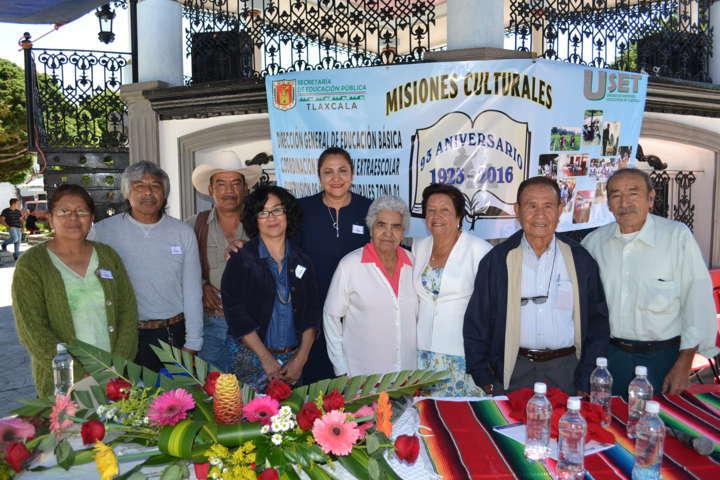 Conmemoran 93 Aniversario de Misiones Culturales en Nanacamilpa