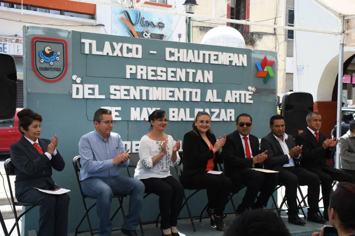 Presencia de Tlaxco en el municipio del sarape; a través el arte