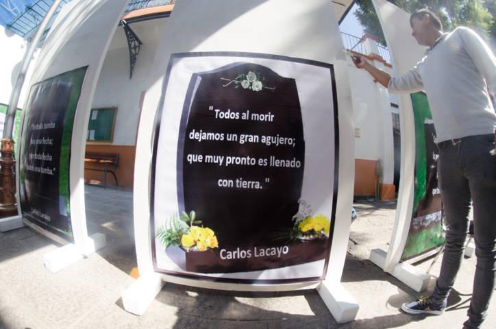 Expondrá comuna capitalina obra literaria de Carlos Lacayo