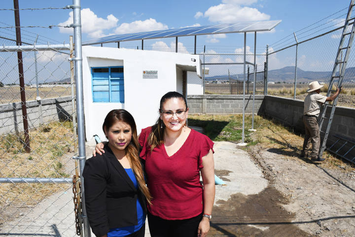Rehabilita Tlaxco pozo de agua en San Diego Quintanilla