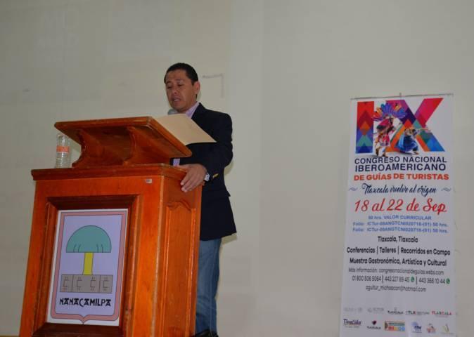 Apuntalan a Nanacamilpa en el IX Congreso Iberoamericano de Guías de Turistas