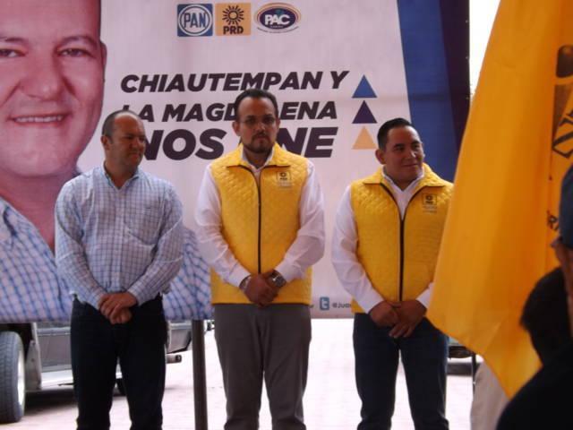 Se fortalece proyecto de Juan Corral con la suma de corrientes perredistas