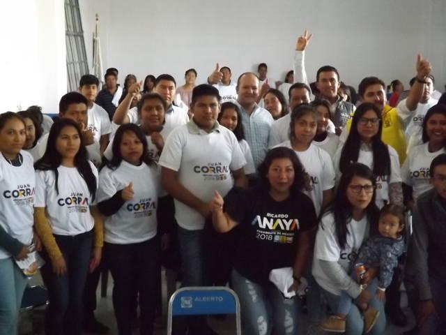 Proyecto legislativo de Juan Corral une experiencia y juventud