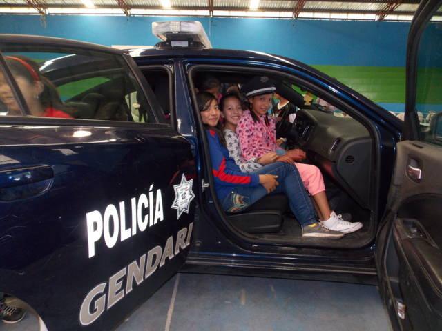 Participa Gendarmería en cursos de verano del SMDIF Nanacamilpa
