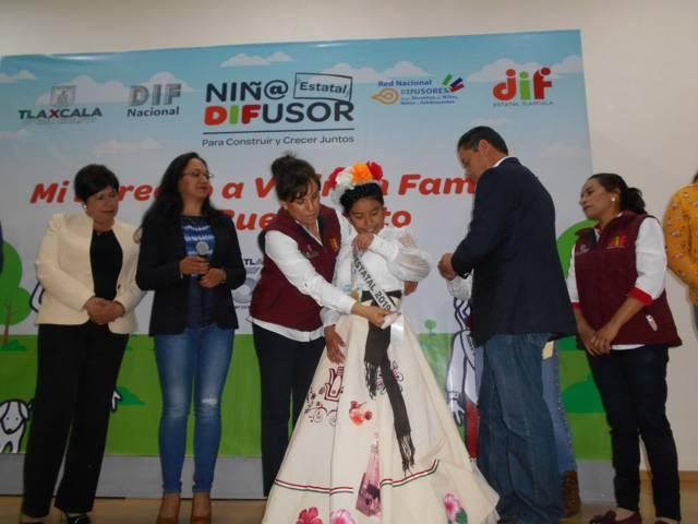 """Fátima Sánchez representara al estado como """"Niño Difusor 2019"""""""