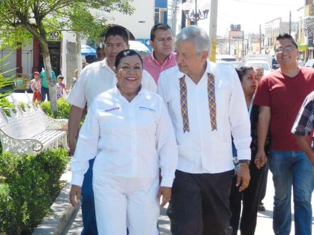 Confirma senadora Martha Palafox visita de AMLO a Tlaxcala