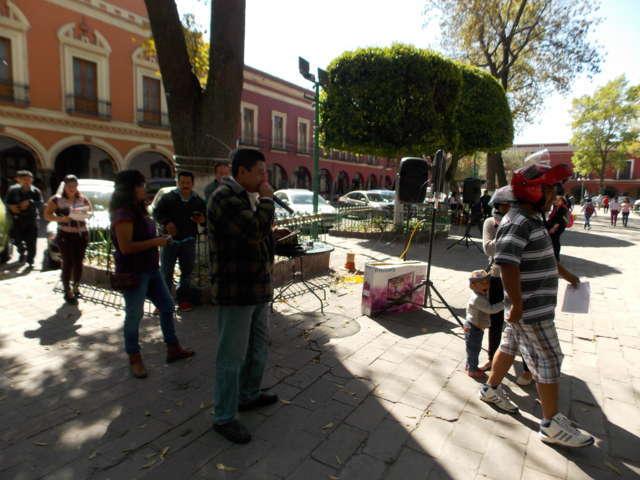Ciudadanos contra el gasolinazo en Tlaxcala