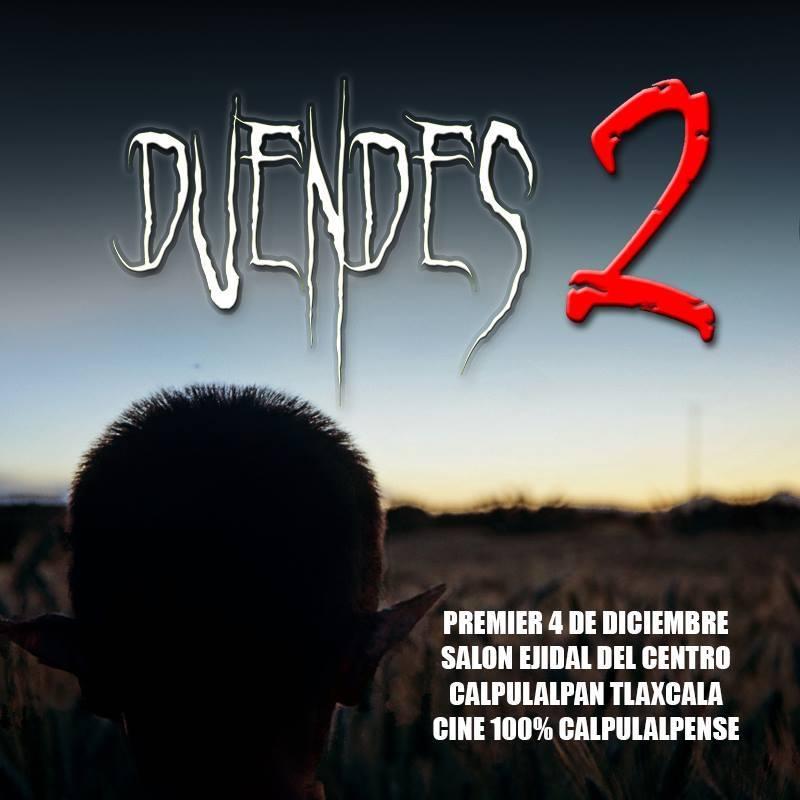 """Presentan con éxito premier de película Calpulalpense """"Duendes 2"""""""