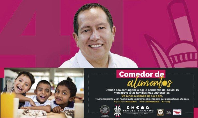 El Chema pondrá en marcha un comedor gratuito en apoyo a las familias por el COVID