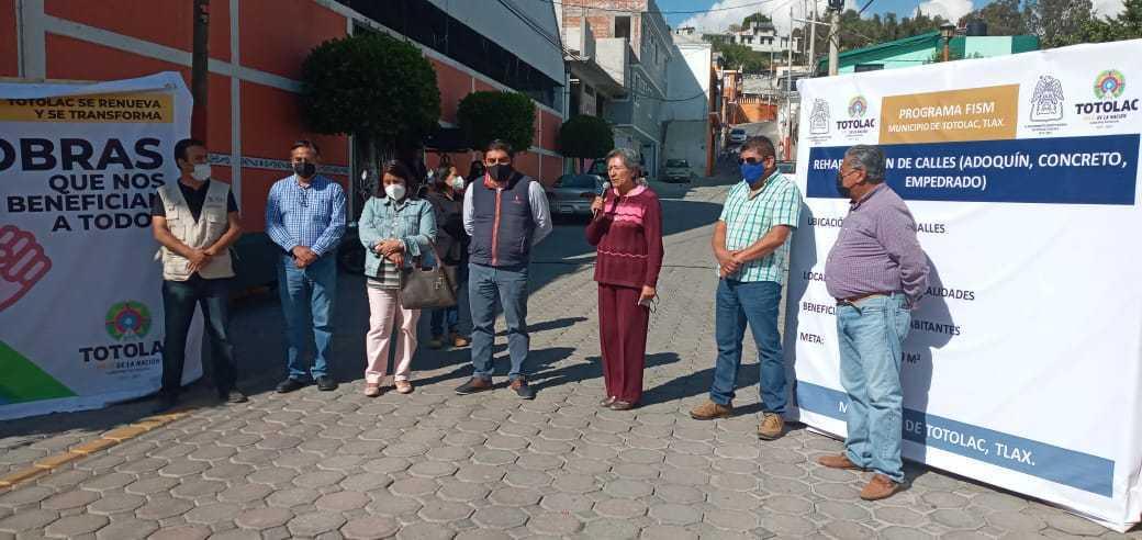 Inicia programa de bacheo en el municipio de Totolac