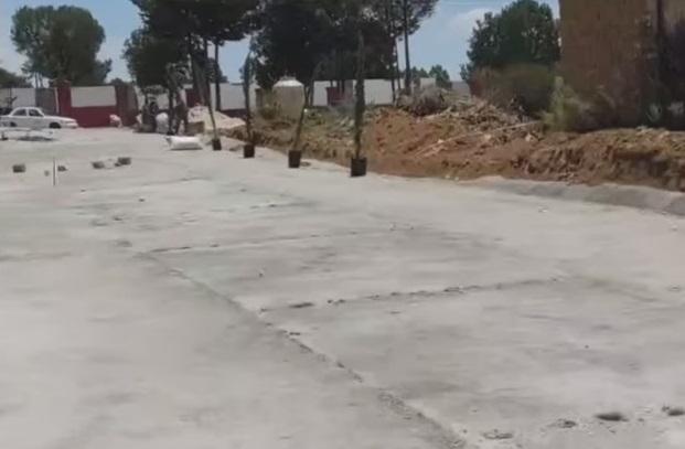 En Ixtacuixtla se siguen mejorando las vialidades con pavimento