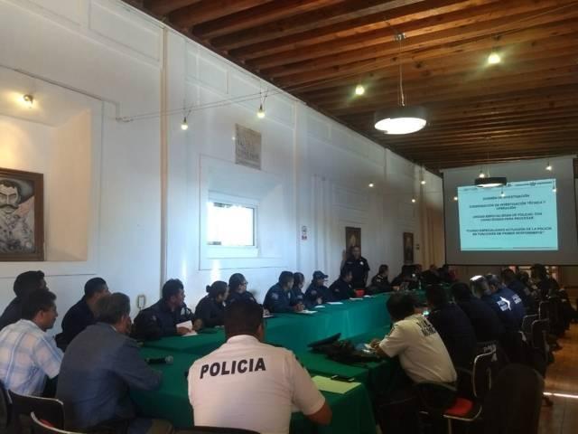 Policía Federal profesionaliza a elementos de seguridad de 5 municipios