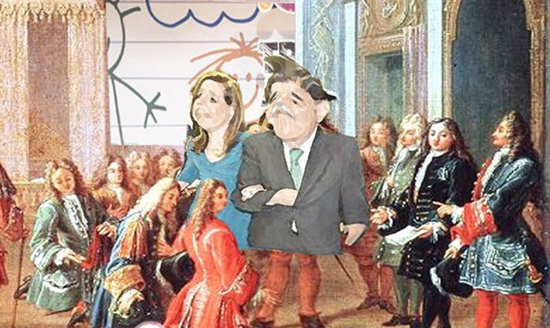 El cómic político