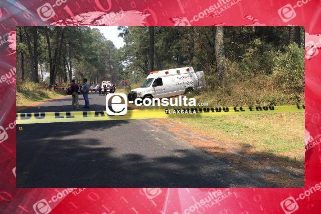 Policía Municipal de Papalotla apoya en caso ocurrido rumbo a la Malinche