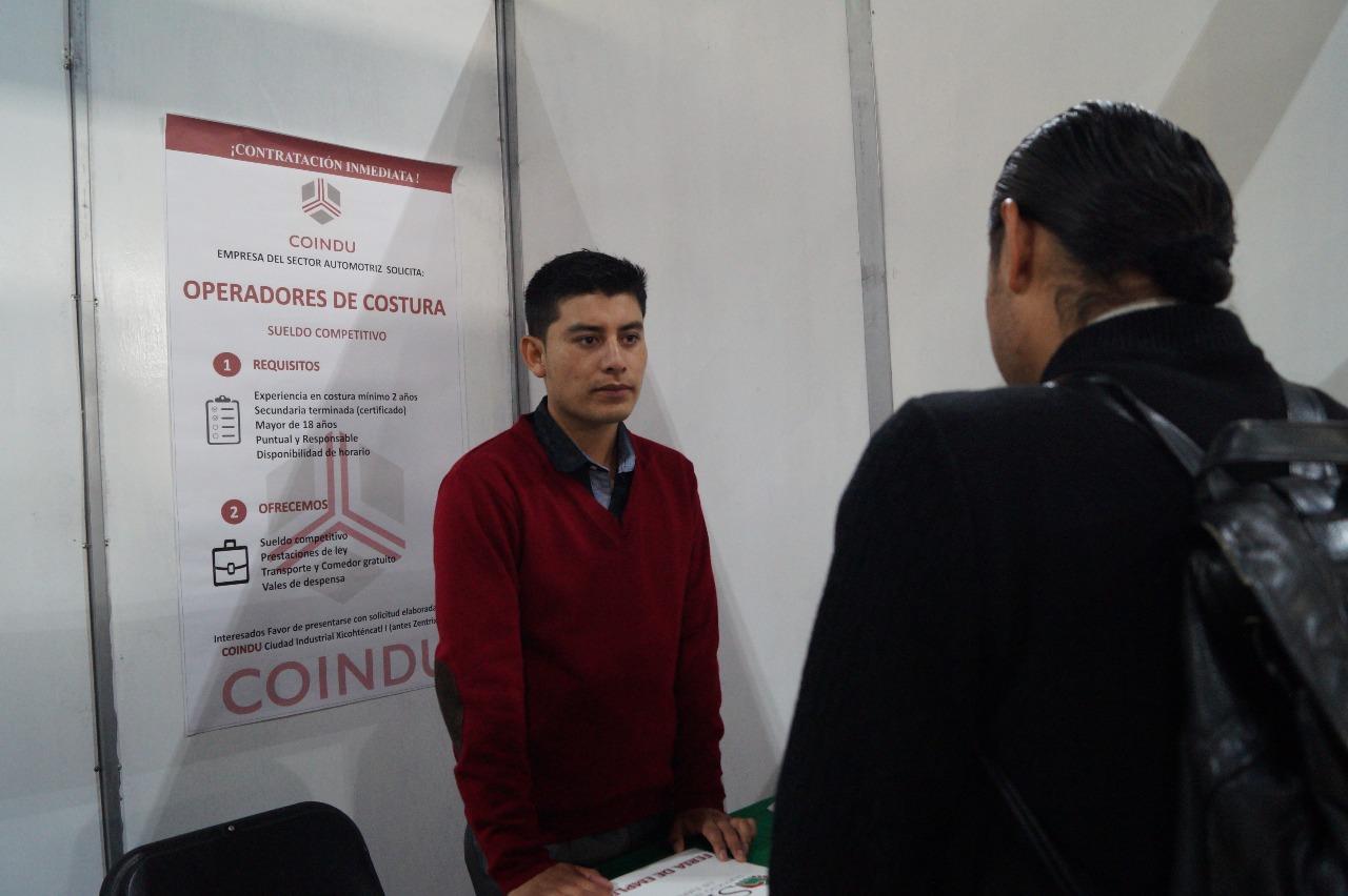 Oferta Coindu 400 plazas; respalda a sectores vulnerables